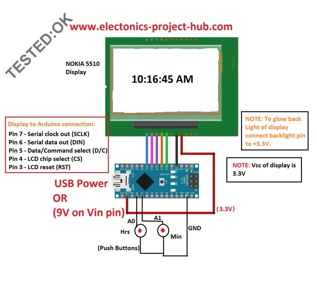 Arduino Clock without RTC
