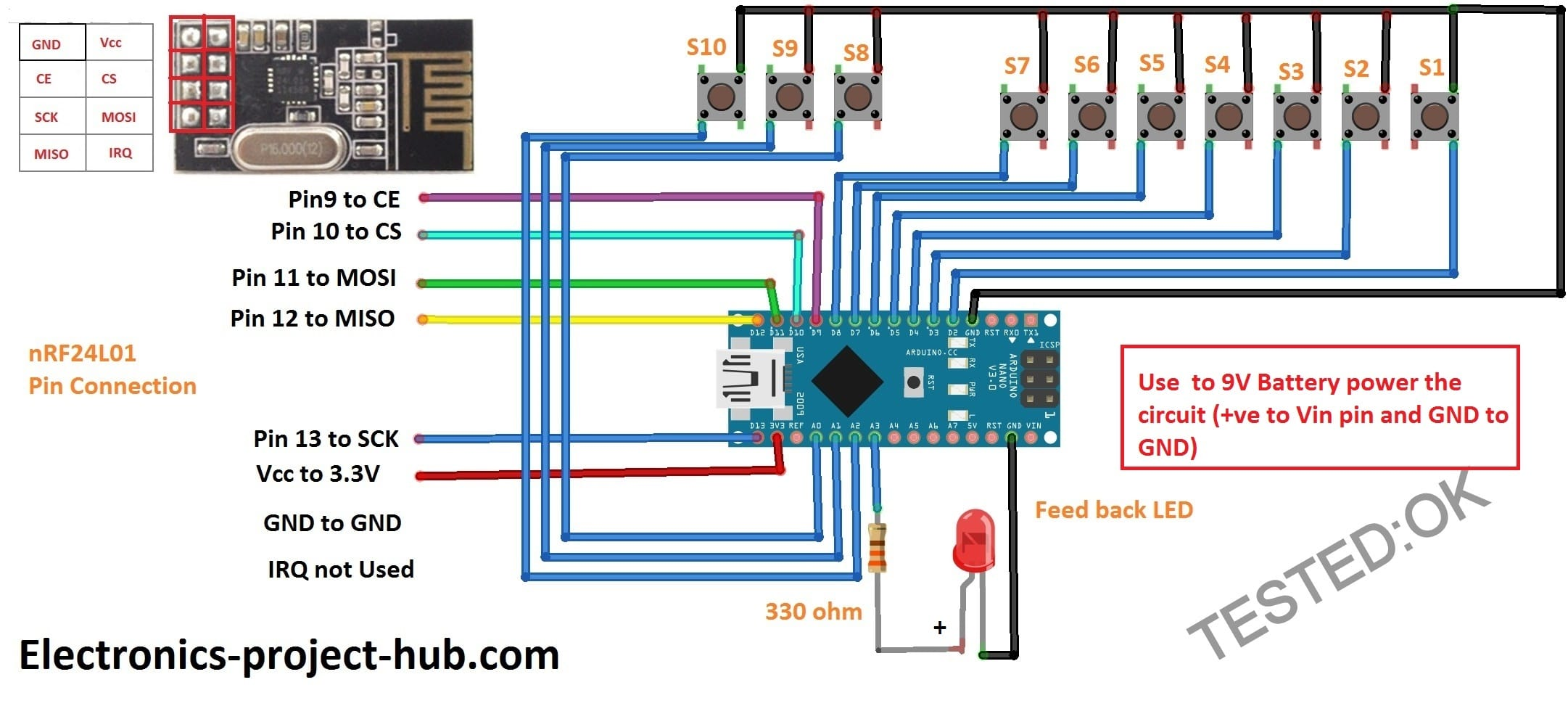 Home Automation Circuit using Arduino with Code – DIY