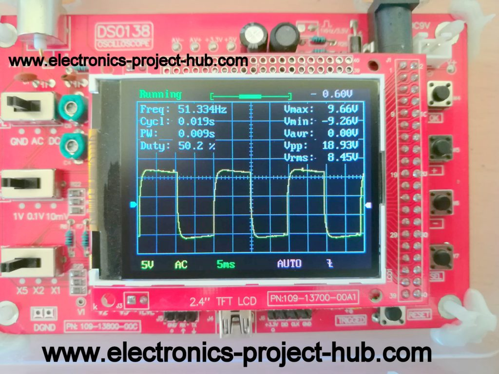 50Hz Square wave from Multivibrator