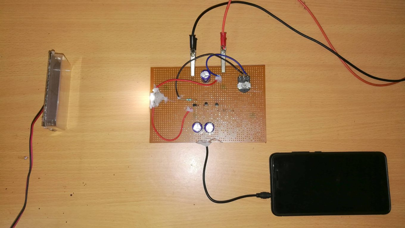 Simple Li Fi Circuit Using Transistor Diy Electronics Projects Ideas Of Small Amplifiers