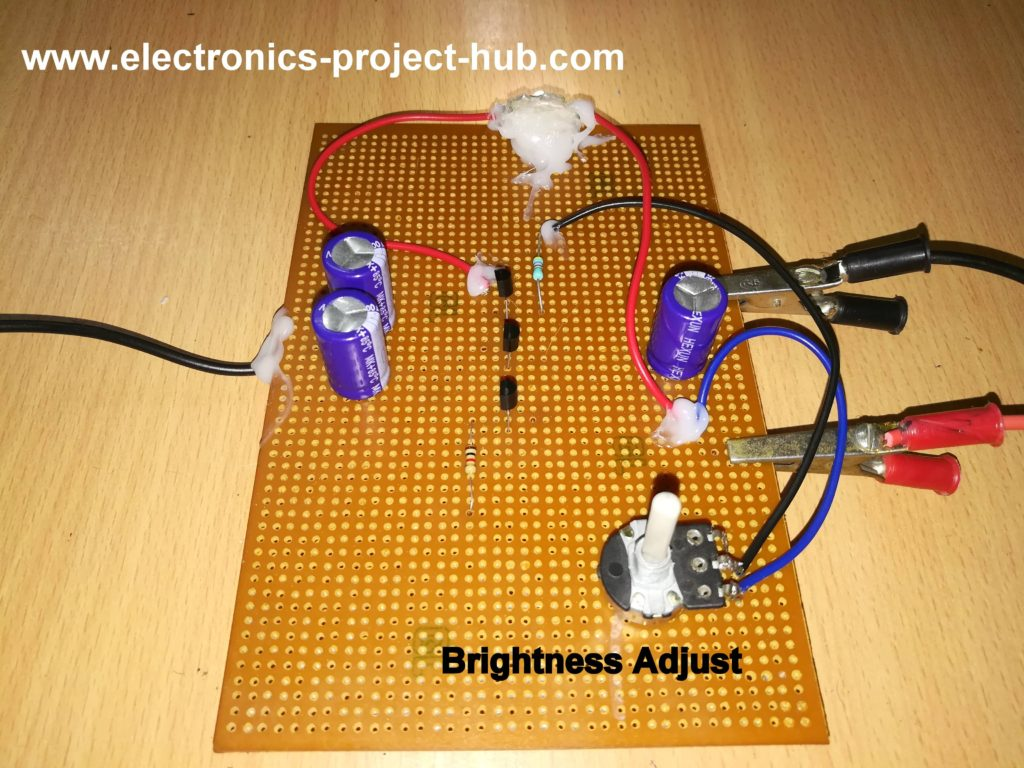 Simple Li Fi Circuit Using Transistor Diy Electronics Projects Diagram Wireless Fidelity Video Demonstrating