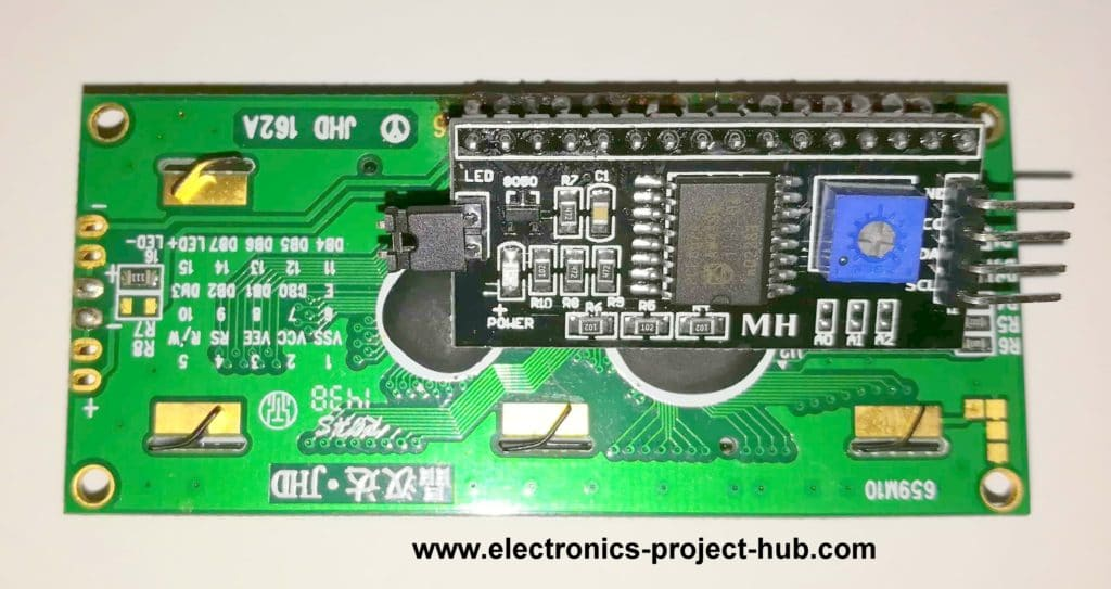 Digital Clock LCD with I2C Module