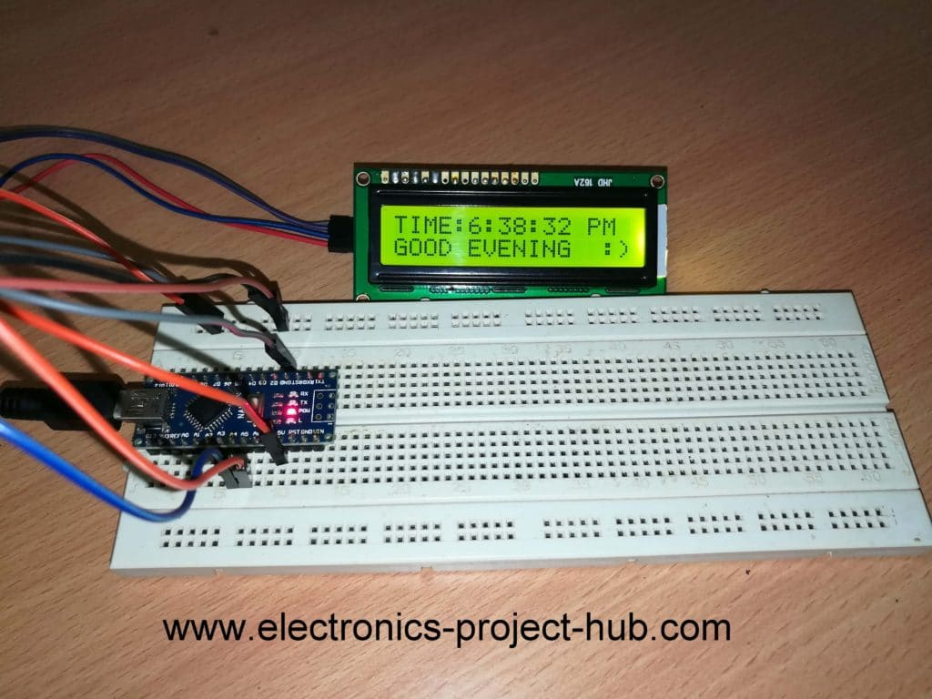 Simple Digital Clock Using Arduino Without RTC – DIY Electronics