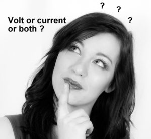 volts or amps