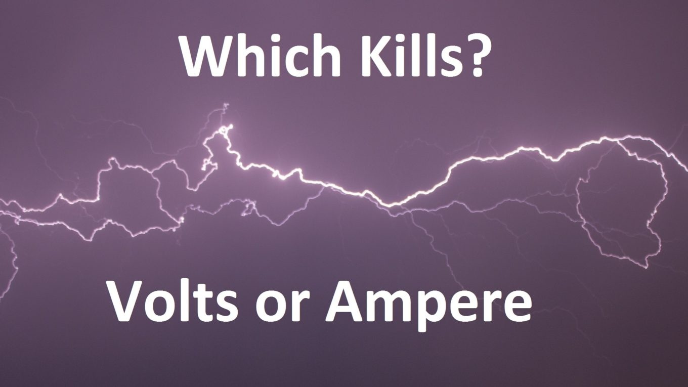 What kills, amps or volts