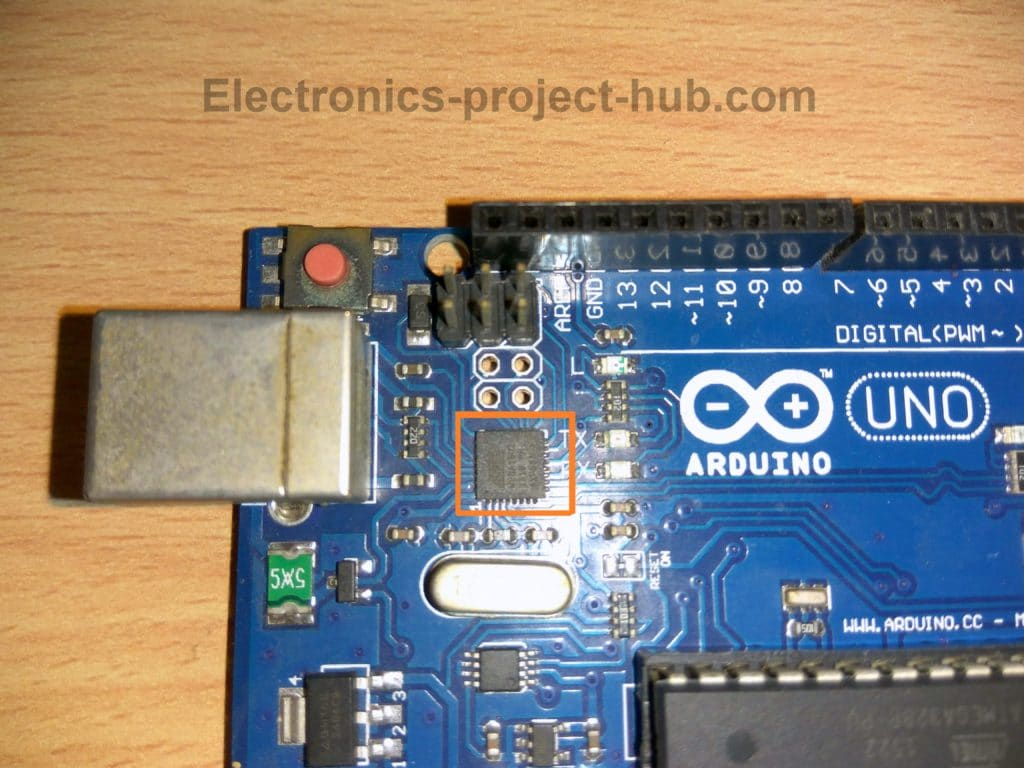 Arduino with Atmega16U2
