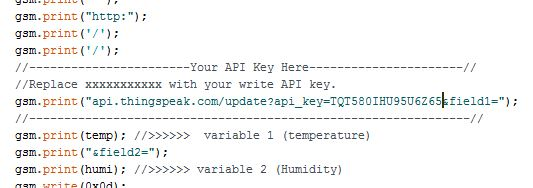 API key Insertion
