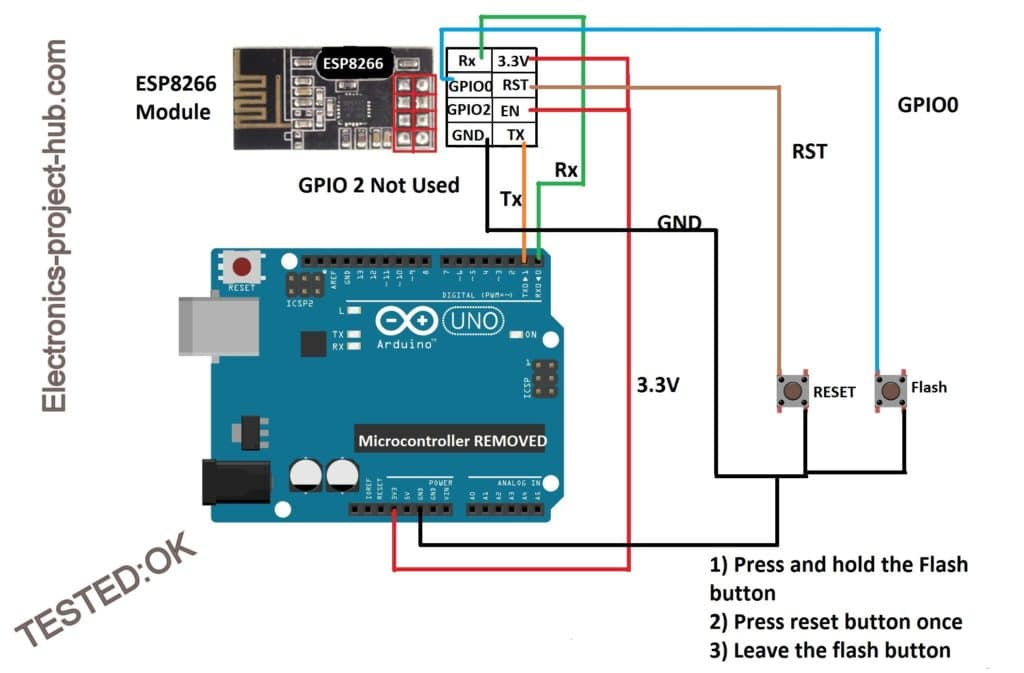 How to Send Data to Thingspeak Using ESP8266 – DIY Electronics Projects