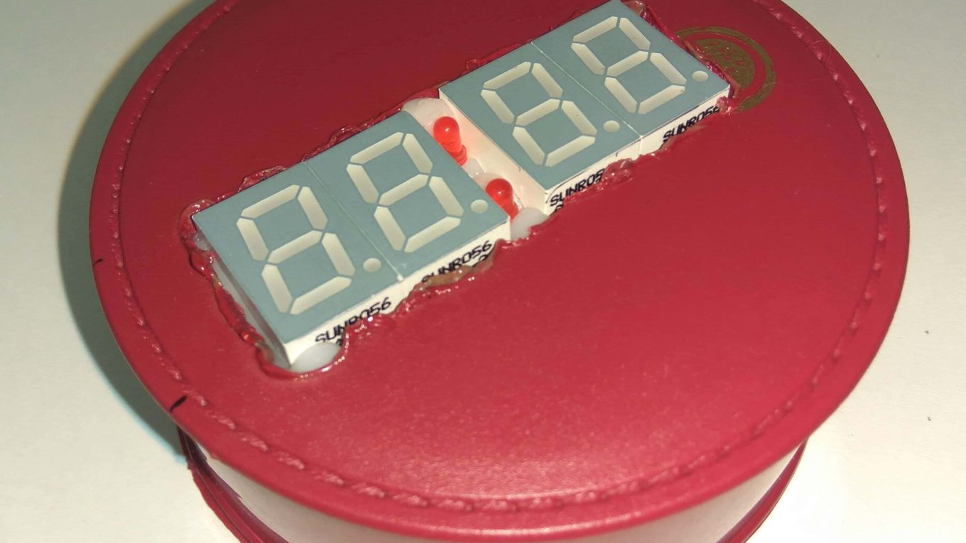 Arduino 7 Segment Digital Clock
