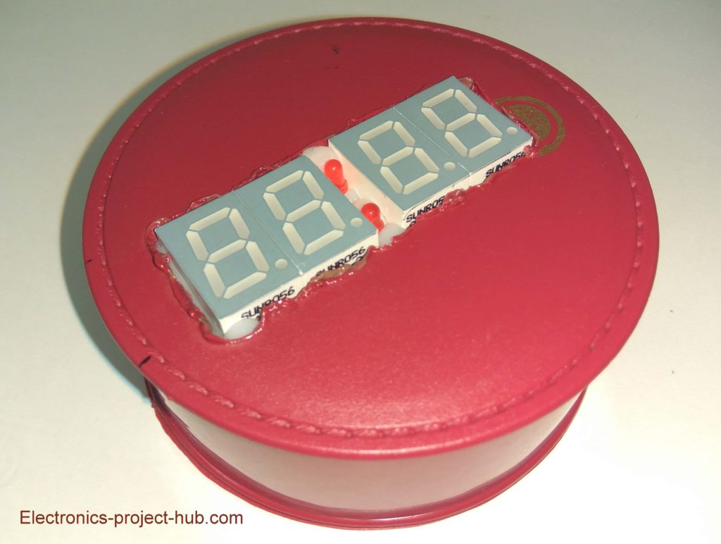 Digital Clock Using 7 segment Display