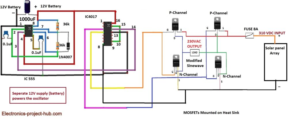 Transfomerless Inverter Circuit