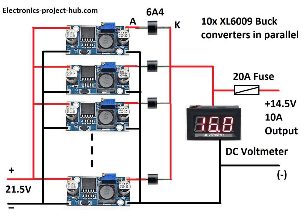 12V 100Ah Battery Charger Circuit – DIY Electronics Projects