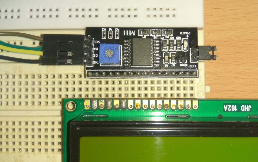 I2C and LCD