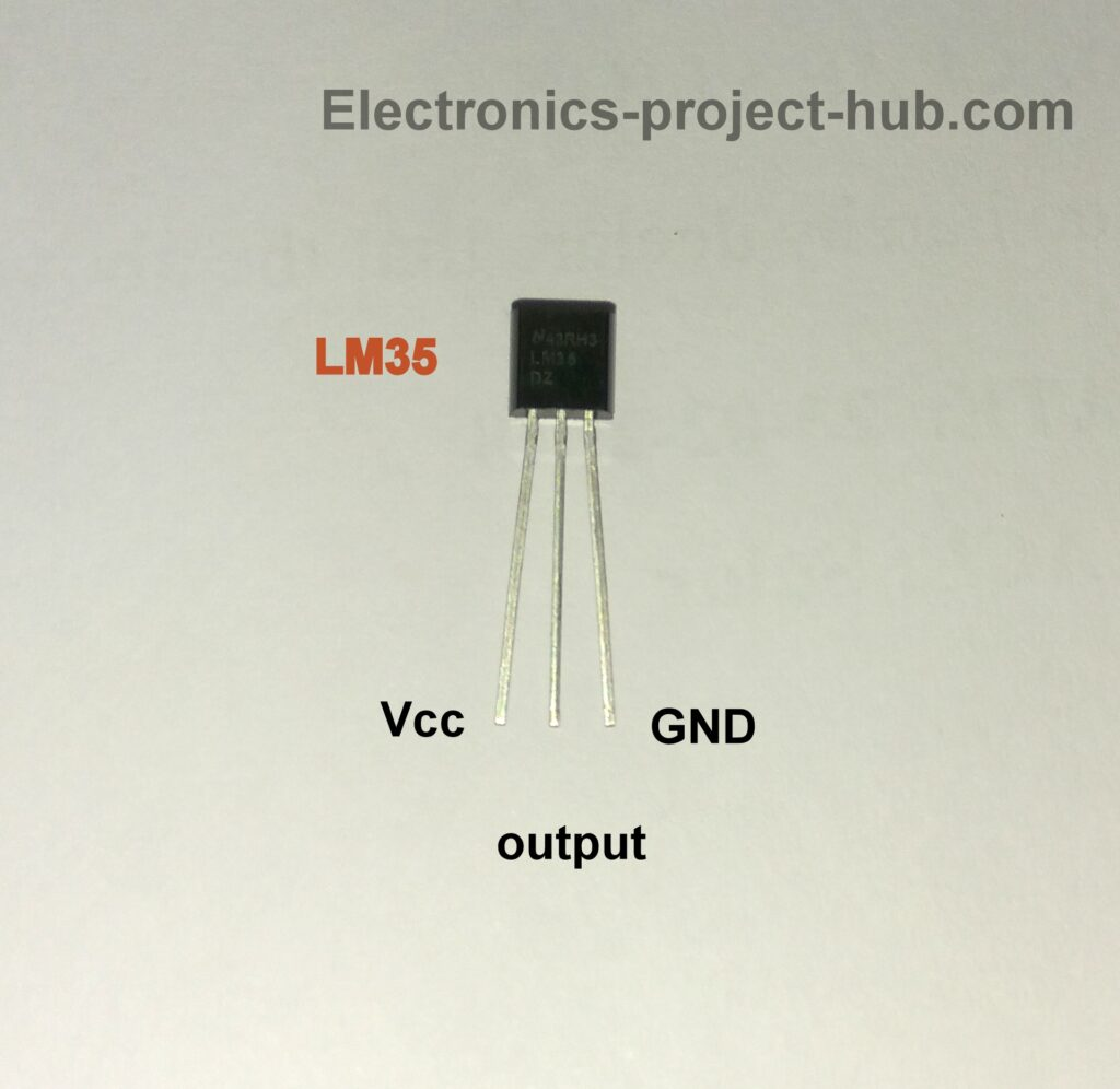 LM35 Pin Diagram